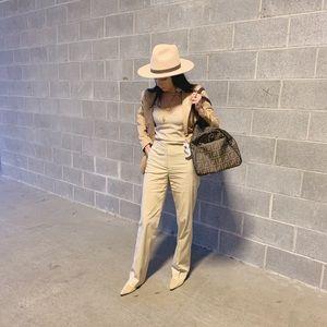 Christian Dior khaki trousers